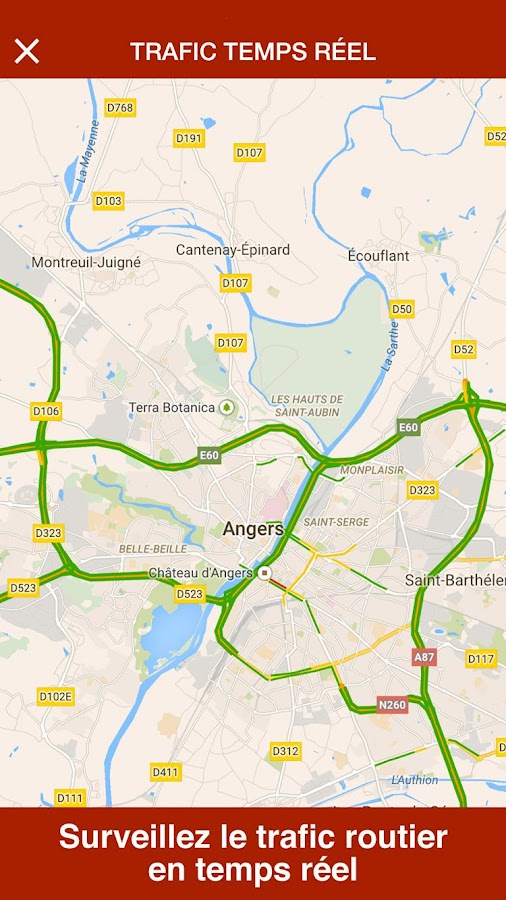 Angers Live- screenshot