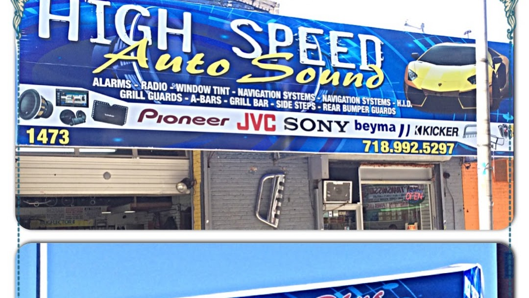 Highspeedautosound Car Stereo Store In Bronx
