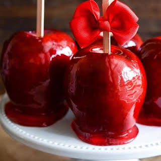 Classic Candy Apples.