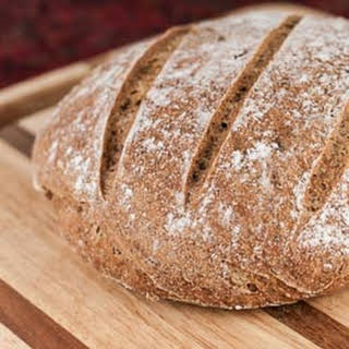 Whole Wheat and Flaxseed Bread.