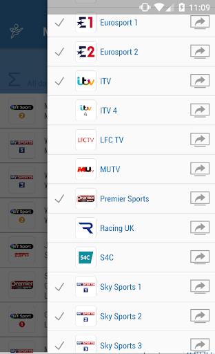UK Live Sport TV Guide 2.01 screenshots 3