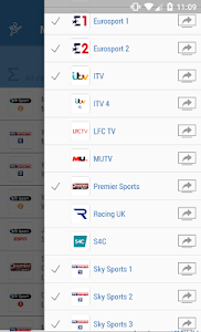 UK Live Sport TV Guide screenshot 2