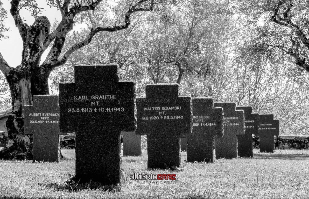 Fotografía del Cementerio Alemán de Cuacos de Yuste (Cáceres)