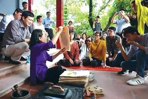 Làng tranh Đông Hồ, nghệ nhân phát huy di sản