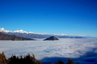 Photo: NEPAL- Hymalayas-the view from Therepati