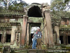 Photo: Heading in the back door of Angkor Wat