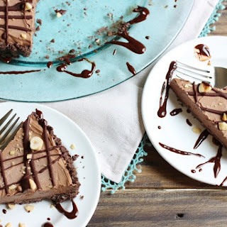 Chocolate Hazelnut Frozen Mousse Tart