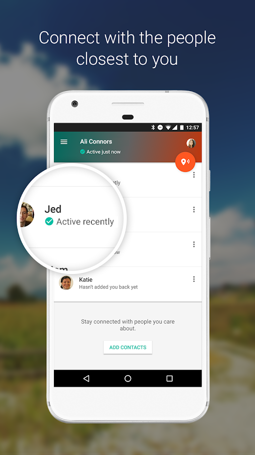 contacts apk uptodown
