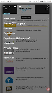 Offcampusjobs4all for PC-Windows 7,8,10 and Mac apk screenshot 2