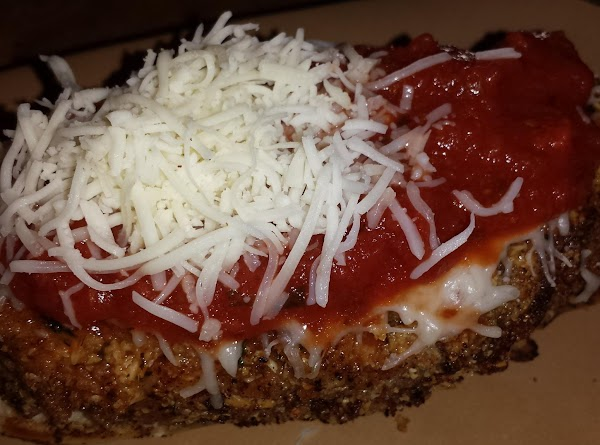 Place meatloaf on roll, add your favorite Italian sauce, and extra cheese if you...