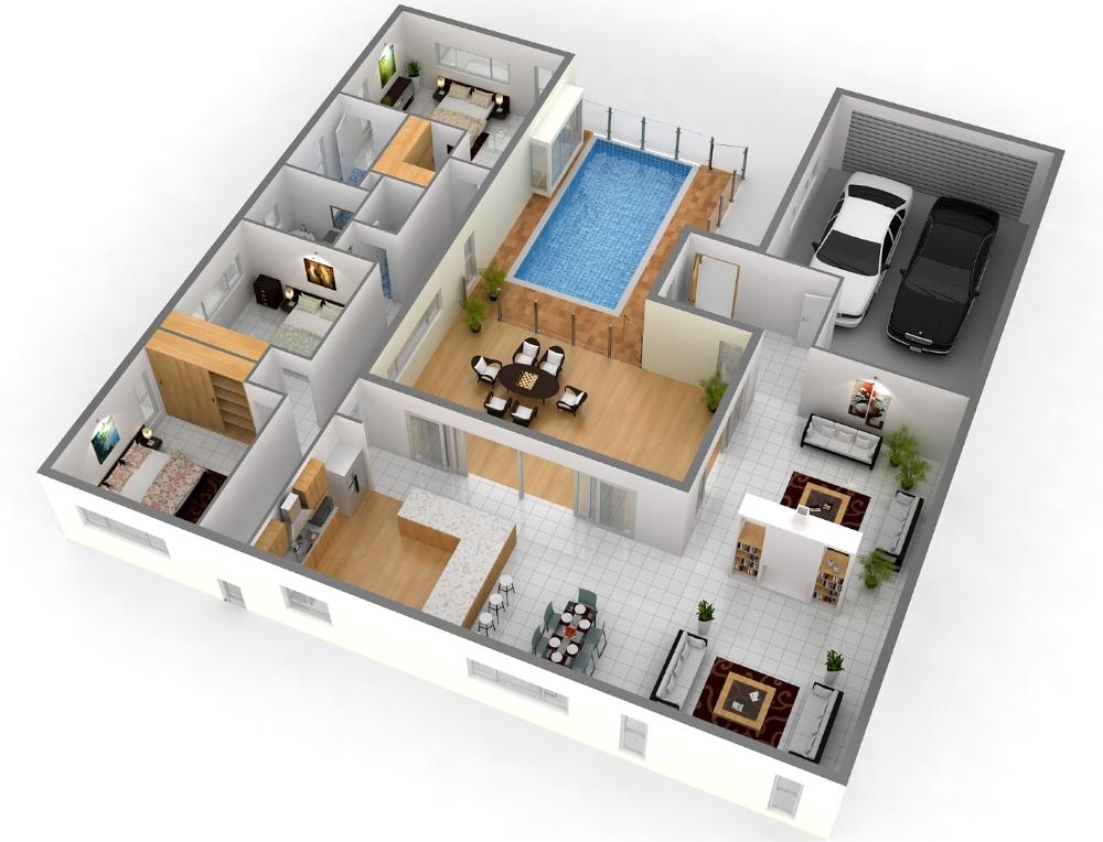 Best 3d Home Plan Screenshot