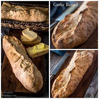 Garlic Batard - #BreadBakers