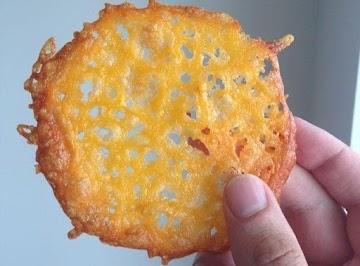 Crispy Cheddar Crisps (low Carb & Gluten Free) Recipe