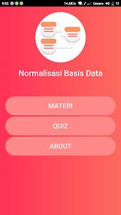 Kuis Normalisasi Basis Data - náhled