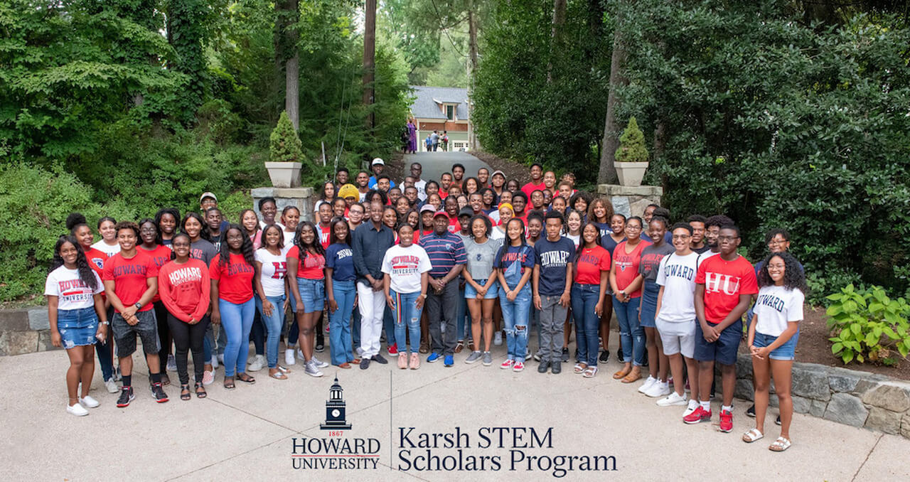 Karsh STEM Scholars Program Group Photo