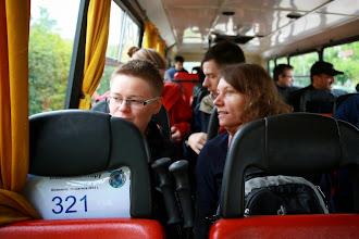 Photo: Zaczynamy wycieczkę do Guzowego Pieca. Na pokładzie autokaru obowiązuje zakaz spożywania alkoholu.