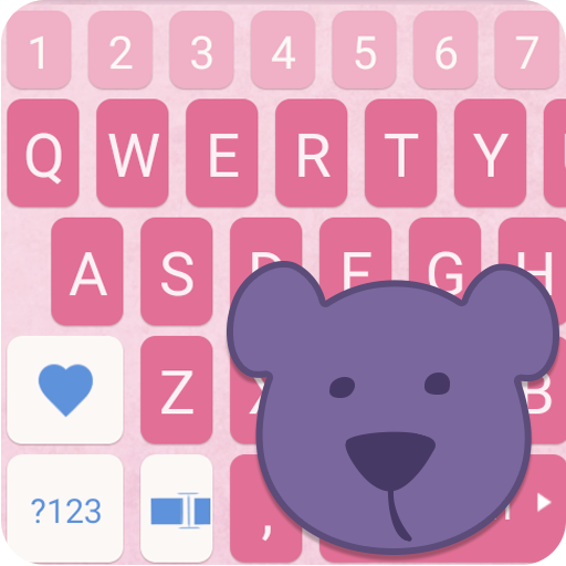 ai.keyboard My Baby Girl theme