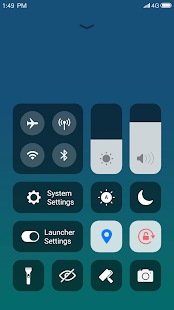 X Launcher: With OS13 Style Theme & Control Center Screenshot