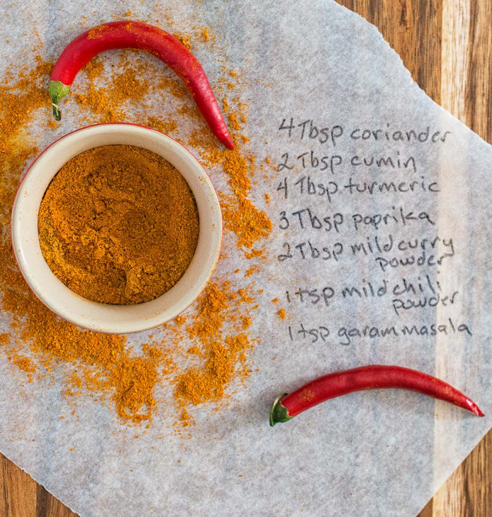 Indian Restaurant Spice Mix Recipe