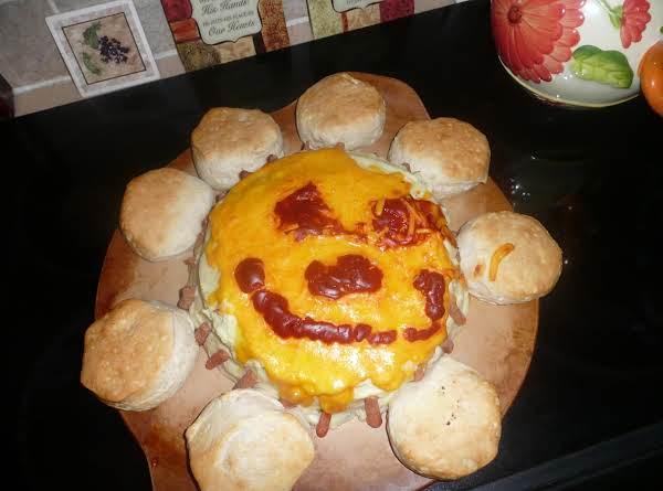 Meatloaf Celebration Cake