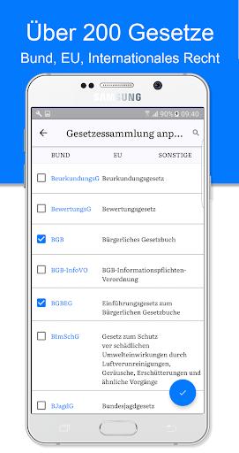 JLaw Gesetze & Urteile screenshot 1