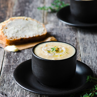 Cauliflower & Zucchini Soup.