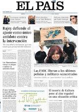Photo: Rajoy defiende el ajuste como único antídoto contra la intervención y las FARC liberan a los últimos policías y militares secuestrados, en nuestra portada del martes 3 de abril http://srv00.epimg.net/pdf/elpais/1aPagina/2012/04/ep-20120403.pdf