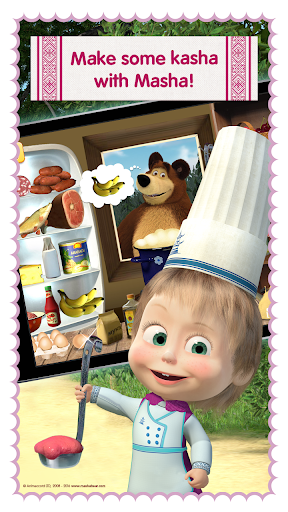 Masha and Bear: Cooking Dash  screenshots 5