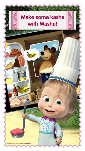 Masha and Bear: Cooking Dash screenshot 4