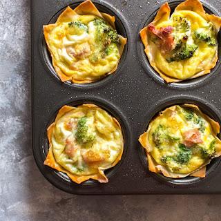 Breakfast Wonton Egg Cups Recipe