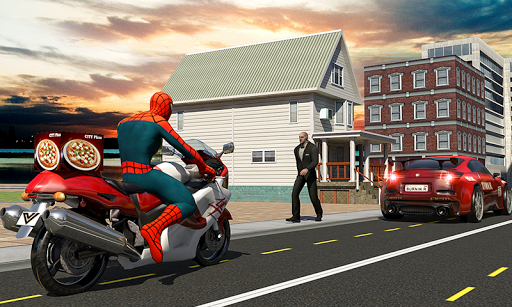 Spider Hero Pizza Delivery 1.5 {cheat|hack|gameplay|apk mod|resources generator} 2