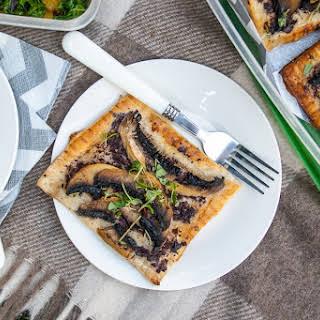 Mushroom Tart Puff Pastry Recipes.