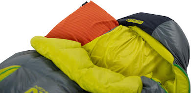 NEMO Disco 30 Men's Sleeping Bag - 650 Fill Power Down with Nikwax, Regular, Spark/Fortress alternate image 1