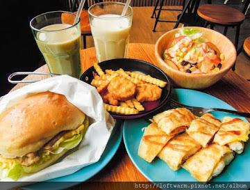 鐵男漢堡-新竹早餐