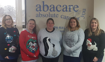 Abacare staff go all festive