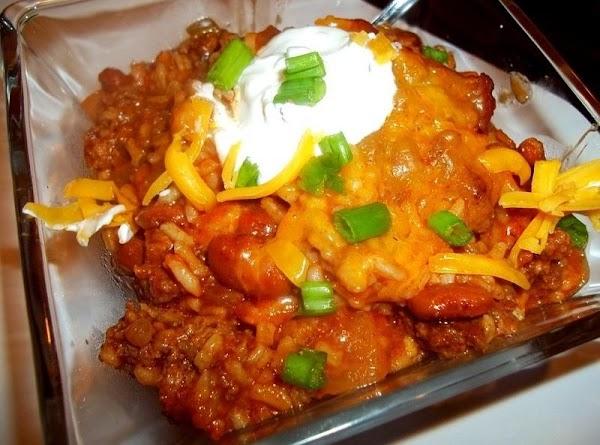 Tasty Beef - N - Rice Skillet Recipe