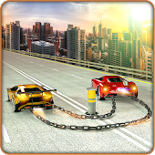Chained Cars Stunts 3D