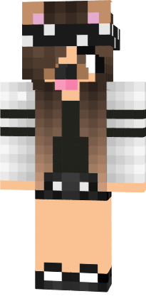 Minecraft skin girls and dogs