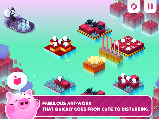 android Divide By Sheep - Mathespiel Screenshot 4