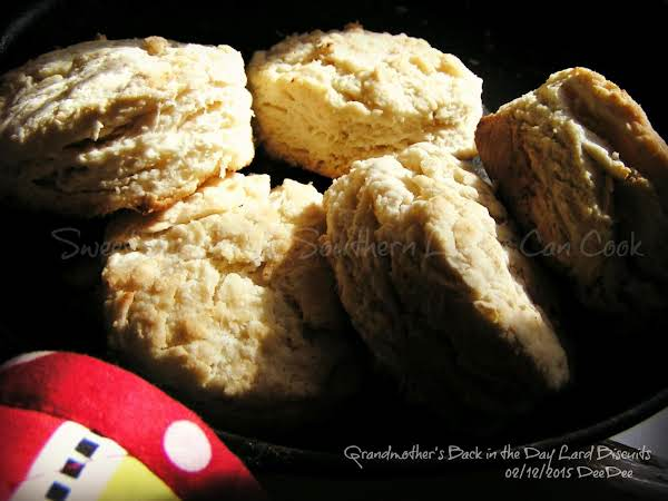Back In The Day Lard Biscuits Recipe