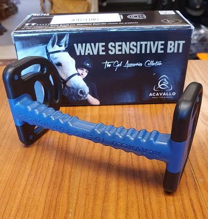 Acavallo Wave Sensitive Bit Svart 125 mm