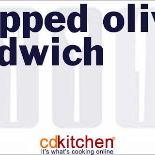 Chopped Olive Sandwich.