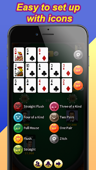 Chinese Poker - Bluetooth Game (Pusoy / Piyat2x)