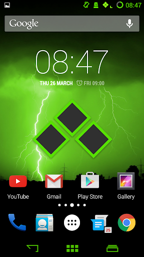Badass Green CM11 Theme