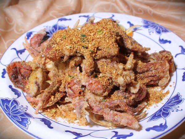 軟殼蟹椒鹽