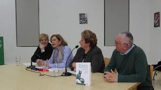 Covadonga Porrúa, Magis Iglesias, autora del libro; Virtudes Castro y José María Granados.