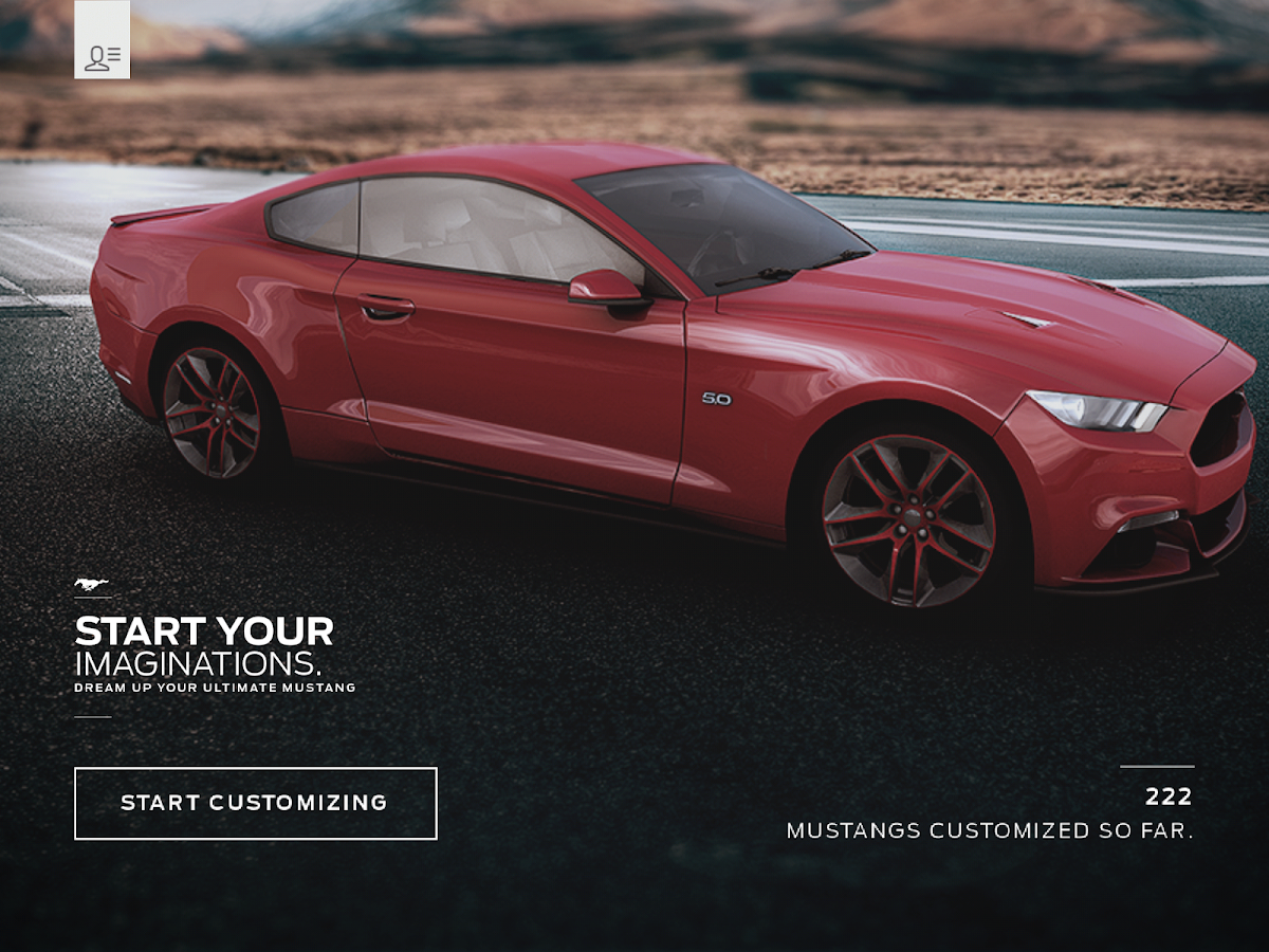 2014 Mustang Customizer- screenshot
