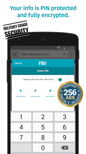 Android/PC/Windows için Fillr - Autofill for mobile Uygulamalar (apk) ücretsiz indir screenshot