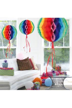 Dekorationsboll, regnbågsfärgad