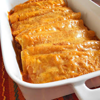Beef and Cheese Enchiladas (or just cheese).